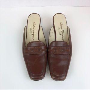 Vintage Salvatore Ferragamo mules